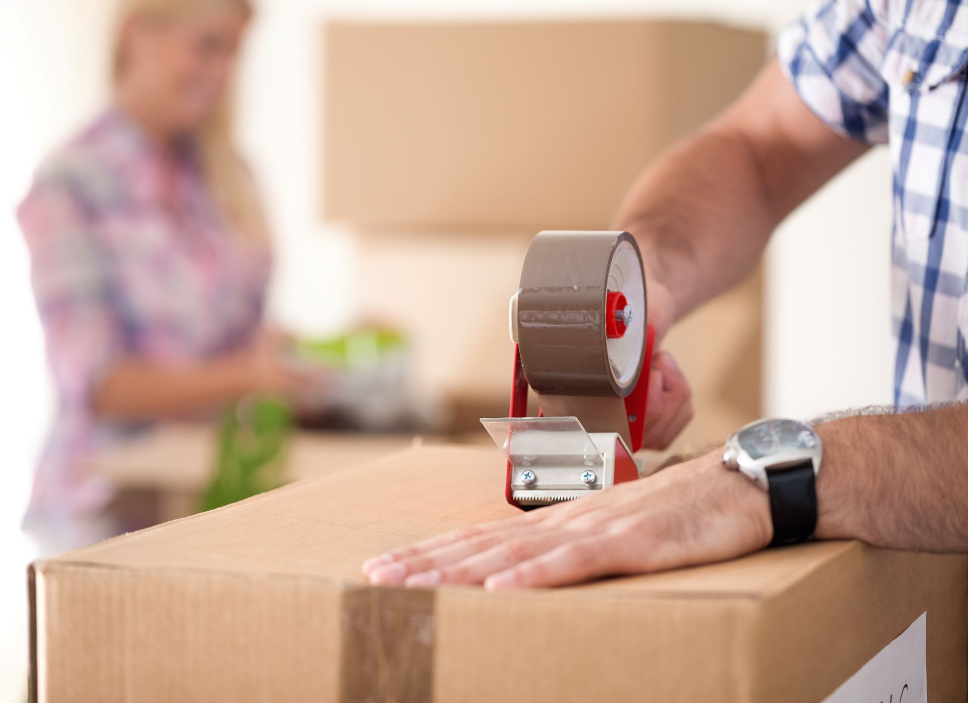 Moving box- Retirement and Moving Tax Implications