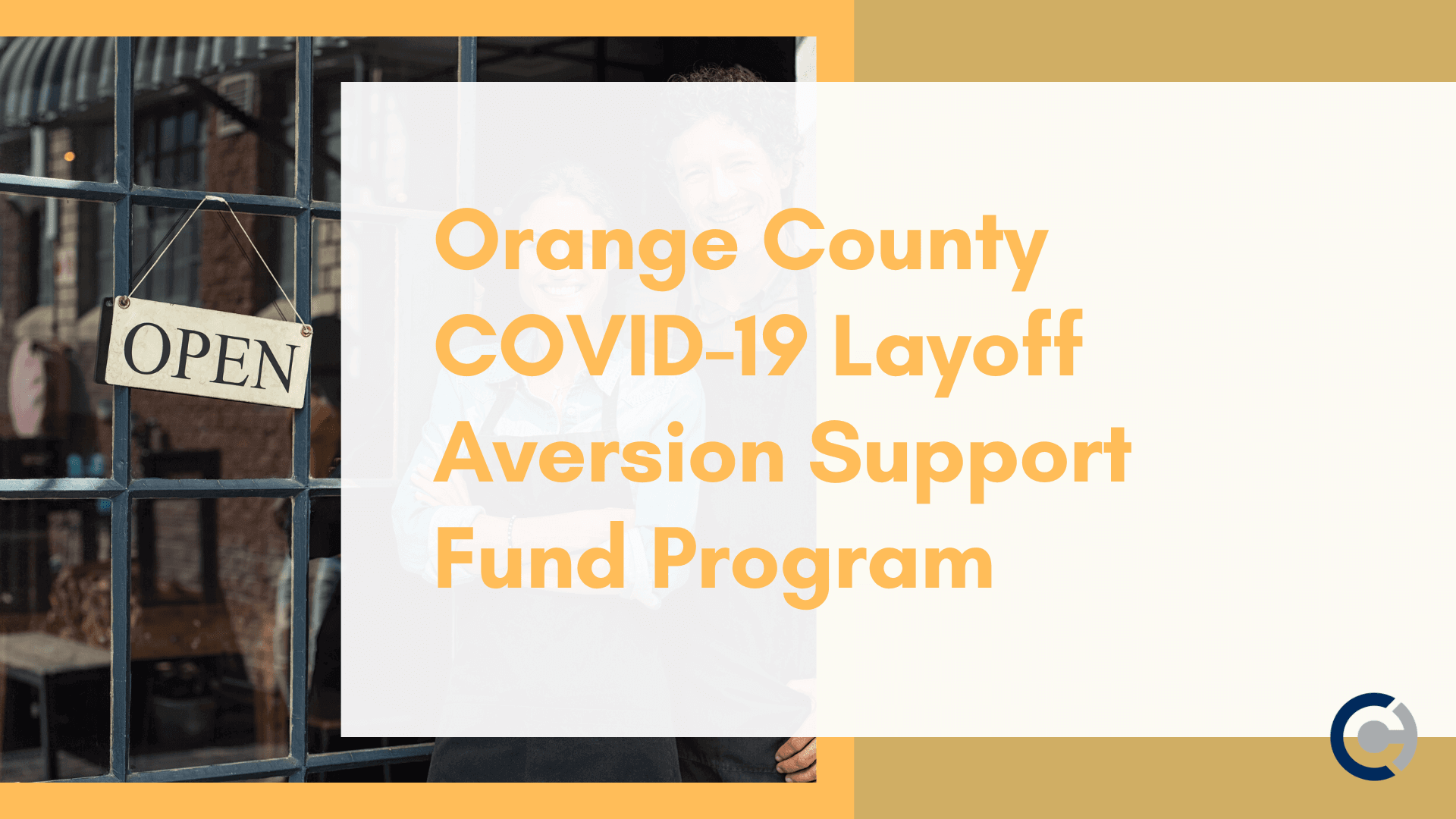 Orange County COVID-19 Layoff Aversion Support Fund Program - CAPATA