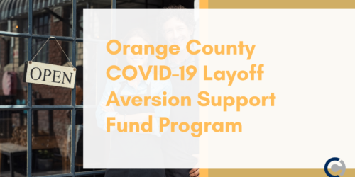 Orange County COVID-19 Layoff Aversion Support Fund Program