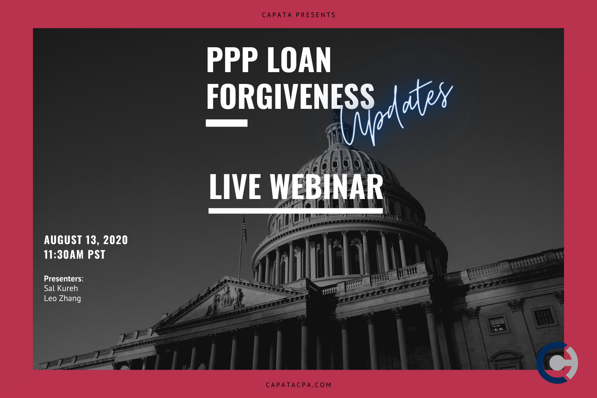 PPP Loan Forgiveness Updates - CAPATA