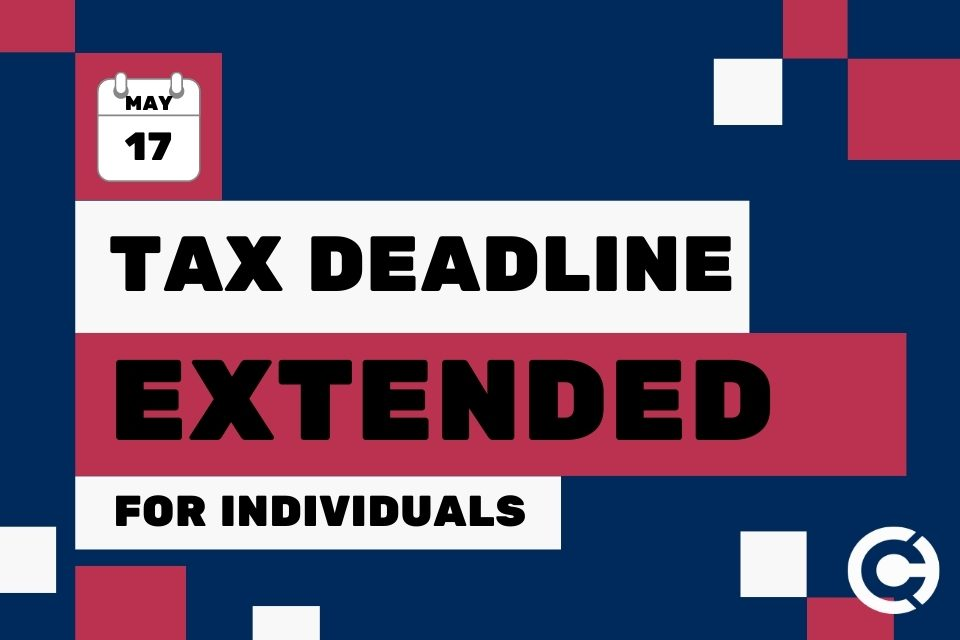 Individual Tax Deadline Extended - CAPATA CPA