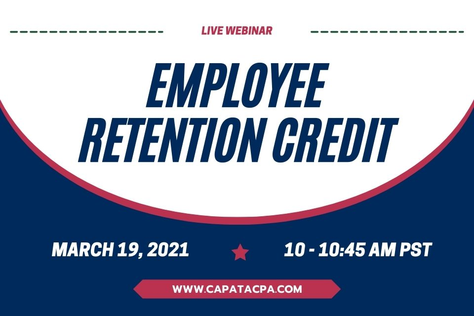 Employee Retention Credit - CAPATA CPA