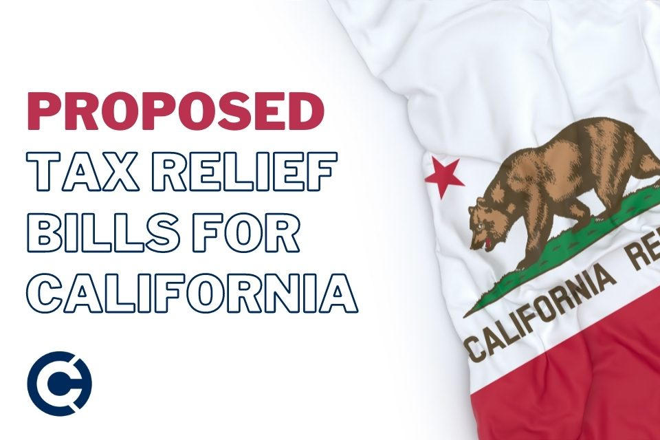 California's Governor is expected to sign several tax-related and stimulus bills that the California General Assembly sent to him. - CAPATA CPA